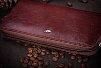Braun Buffel портмоне кошелек на молнии, кожа