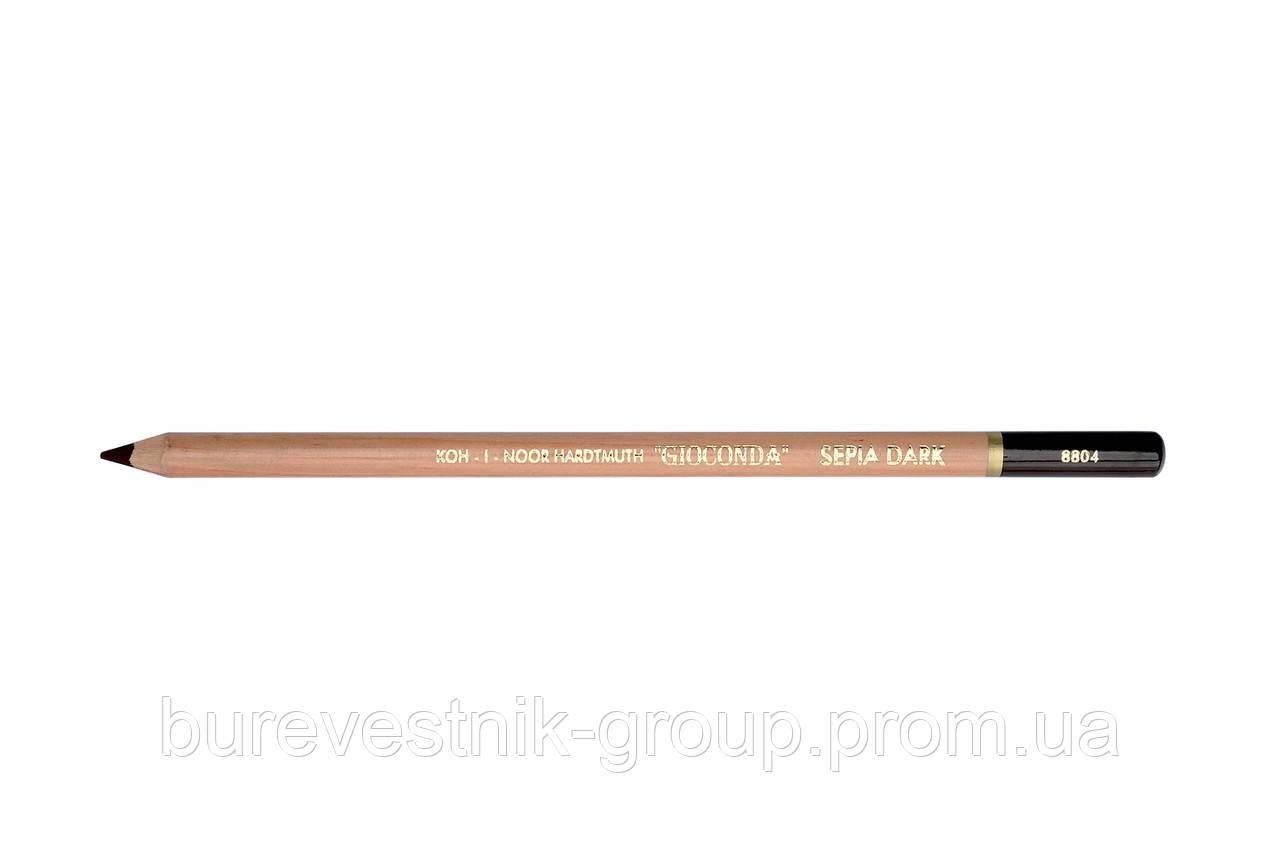 "Художественный карандаш ""Сепия""  Koh-i-Noor Gioconda (8804)"