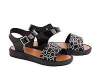 Силиконовые босоножки для девочек DF - shoes 21A1 размеры 30 - 35