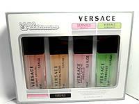 Подарочный набор парфюмерии  Versace с феромонами 4 шт по 15 мл для женщин