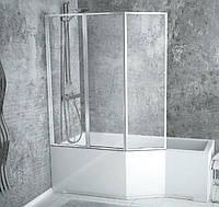 Шторка для ванны  Besco PMD Ambition Premium - 3 130x140