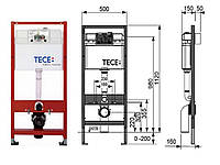 Инсталляция для туалета TECE H112 FLUSH