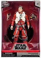"""Коллекционная фигурка Poe Dameron """"Звездные войны: Пробуждение силы"""" (Элитная серия, 19 см). Дисней."""