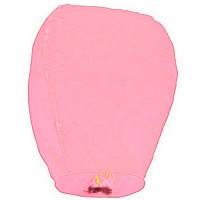 Небесный фонарик купол нежно розовый 105см большой