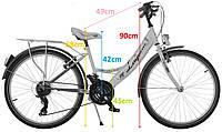 Велосипед 24 LAGUNA VS1 для девочки SHIMANO 2017