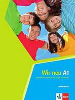 Wir neu A1. Arbeitsbuch. Grundkurs Deutsch für junge Lernende (Проекты №43)