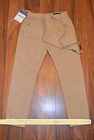 Коттоновые брюки-джоггеры для мальчиков-подростков