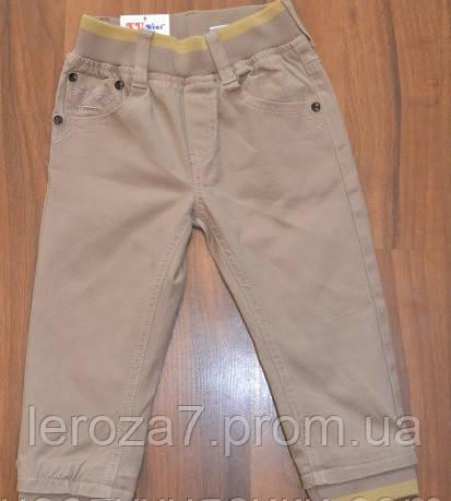 Коттоновые брюки-джоггеры для мальчиков