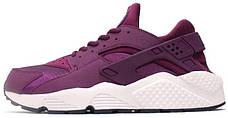 Женские кроссовки в стиле Nike Air Huarache Mulberry