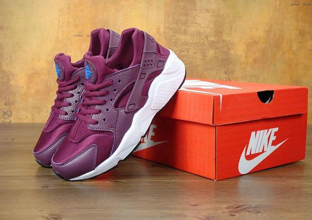 Женские кроссовки Nike Air Huarache Mulberry, фото 2