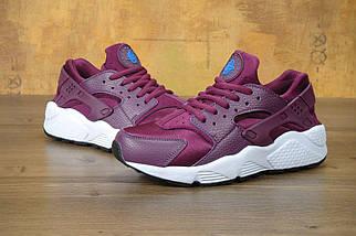 Женские кроссовки в стиле Nike Air Huarache Mulberry, фото 2