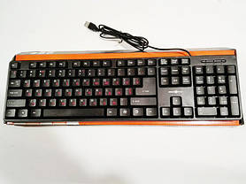 Клавиатура проводная USB 301, фото 2
