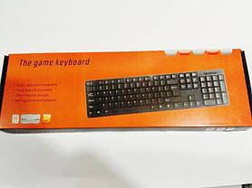 Клавиатура проводная USB 301, фото 3