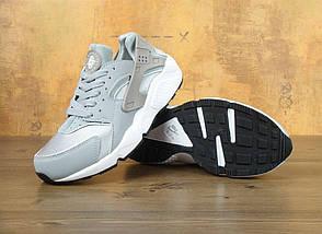 Женские и мужские кроссовки в стиле Nike Air Huarache Damen Grau, фото 2