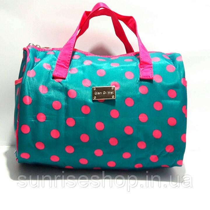 Женская косметичка несессер в форме сумки