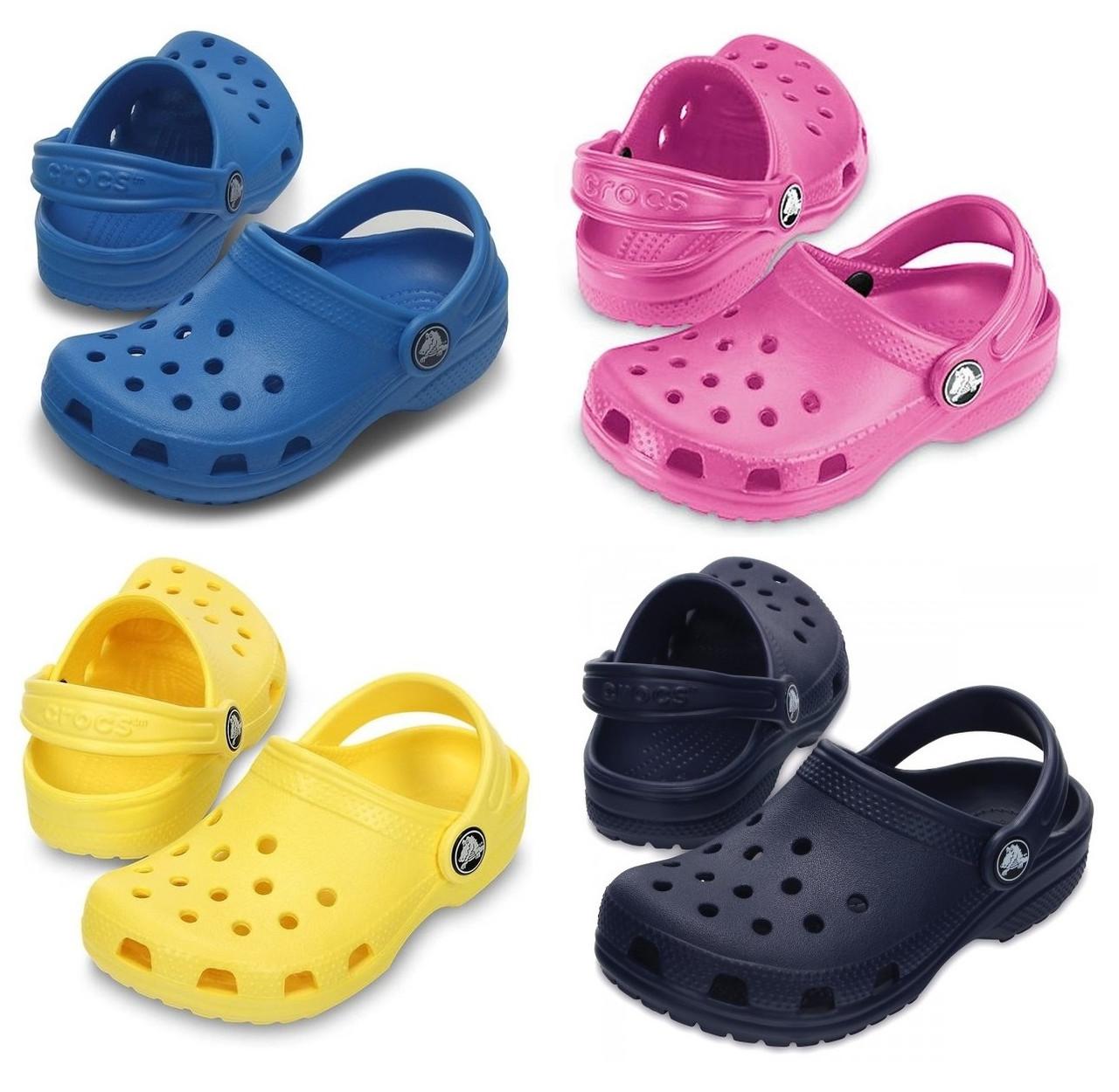 Кроксы детские Классик оригинал / Сабо Crocs Kids' Classic Clog