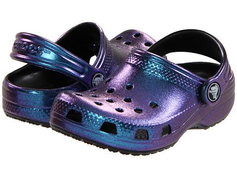 Кроксы для девочки Классик Перламутровые оригинал / Сабо Crocs Kids' Classic Iridescent Clog