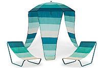 Пляжный зонтик MAUI + два кресла