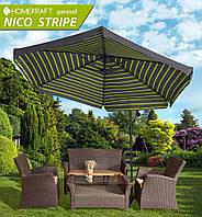 Садовый складной зонт Nico Stripe