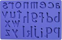 """Вырезной силиконовый коврик для мастики """"Латинские Буквы"""" 200*125 мм Empire EM8424 (Эмпаир)"""