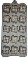 Силиконовая форма под шоколад / лед 15 шт 20*12*2см EM7152 (Empire Эмпаир Емпаєр) 