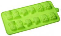 Силиконовая форма под шоколад / лед 12 шт 20*12*2см EM7153 (Empire Эмпаир Емпаєр) 