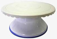 Подставка для работы с тортом поворотная Ø280/Н120мм Empire EM 8993 (Empire Эмпаир Емпаєр)