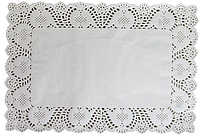 EM0262 Ажурная Салфетка Прямоугольник 40*30 см 1 упаковка=100шт (Empire Эмпаир Емпаєр) 