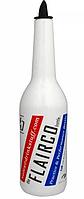 Белая бутылка для флейринга с насадкой Empire EM0015 (Empire Эмпаир Емпаєр) 