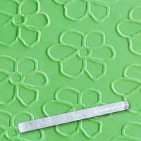 Скалка EM8955 текстурная для мастики прозрачная Д=29мм L= 290мм Empire (Empire Эмпаир Емпаєр) 