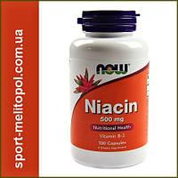 NOW Niacin 500 mg 100 сaps