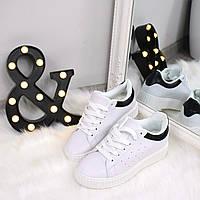 Кроссовки криперы Kreeper белые с черным 41размер , спортивная обувь