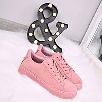 Кроссовки криперы Hell пудра, спортивная обувь