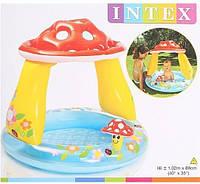 Надувной бассейн Intex 57114 Грибочек