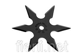 Сюрикен  BF006B- метательная звезда 6 + чехол на ремень,камуфляж