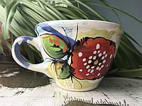 Чашка керамическая 100% ручная работа 0,5 л (71)