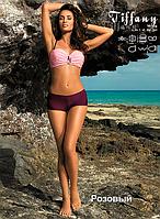 Прекрасный женский купальник с шортиками Tiffany от TM Marko Цвет розовый