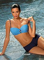Великолепный женский купальник с шортиками Tiffany от TM Marko Цвет синий