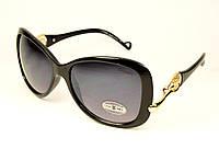 Женские черные очки Chanel