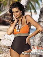 Очаровательный классический закрытый купальник Whitney TM Marko (Польша) Цвет оранжевый