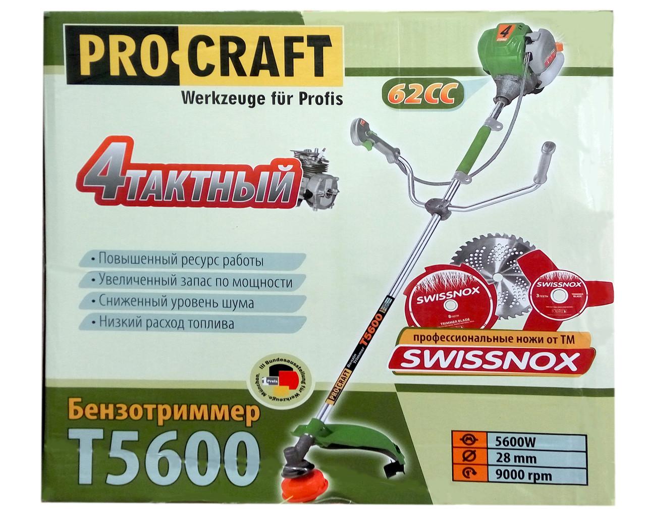 Мотокоса Procraft T5600 (original)