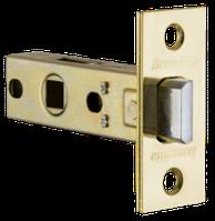 Защёлка врезная (пластик) LH 121-45-25 GP Золото Box /прям/