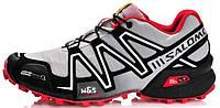 Мужские спортивные кроссовки Salomon Speedcross 3 Саломон серые
