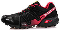 Мужские спортивные кроссовки Salomon Speedcross 3 Саломон черные