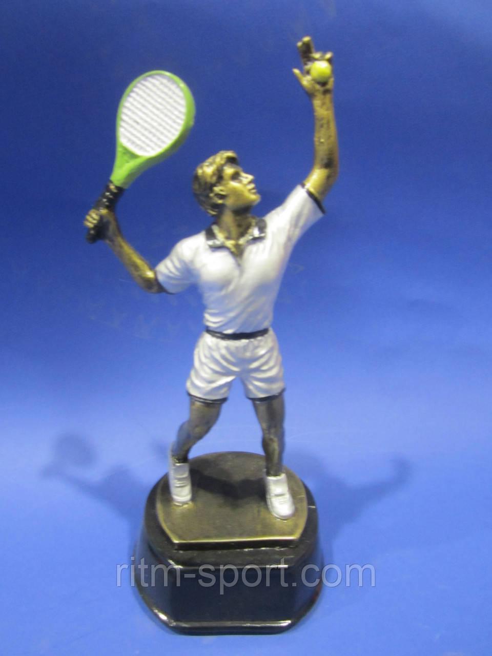 Статуэтка спортивная Большой теннис мужской