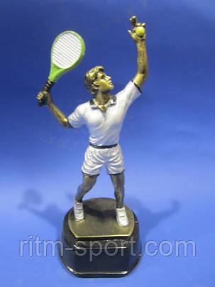 Статуэтка спортивная Большой теннис мужской, фото 2