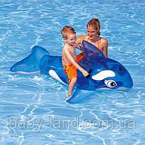 Плотик детский надувной Дельфин Intex 58523