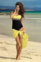 Интересный закрытый купальник Whitney TM Marko (Польша) Цвет желтый