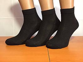 Носки мужские летние сетка «Крокус» 25 размер, чёрные