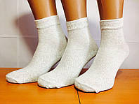 Носки мужские летние сетка «Крокус» 27 размер,серые, фото 1
